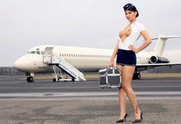 секс на борту самолёта