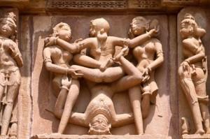 Барельефы на индийских храмах