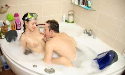 Красивые позы секс в ванной
