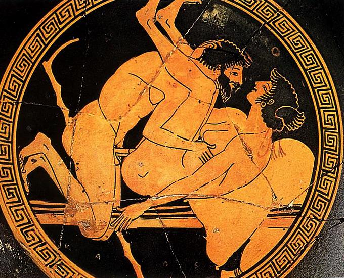 Секс в древнегреции