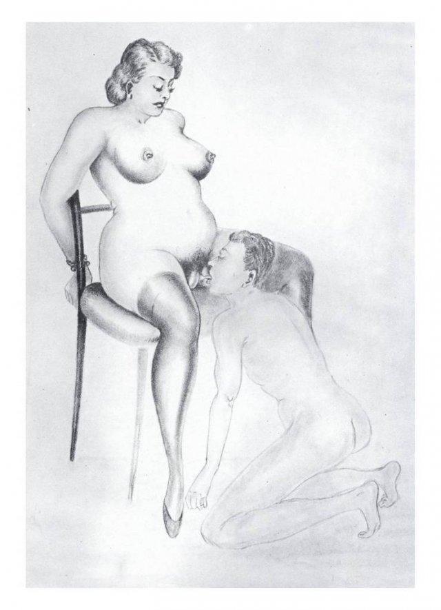 кунилингус в искусстве