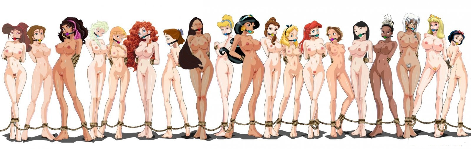 Голые Девушки Из Мультиков Картинки