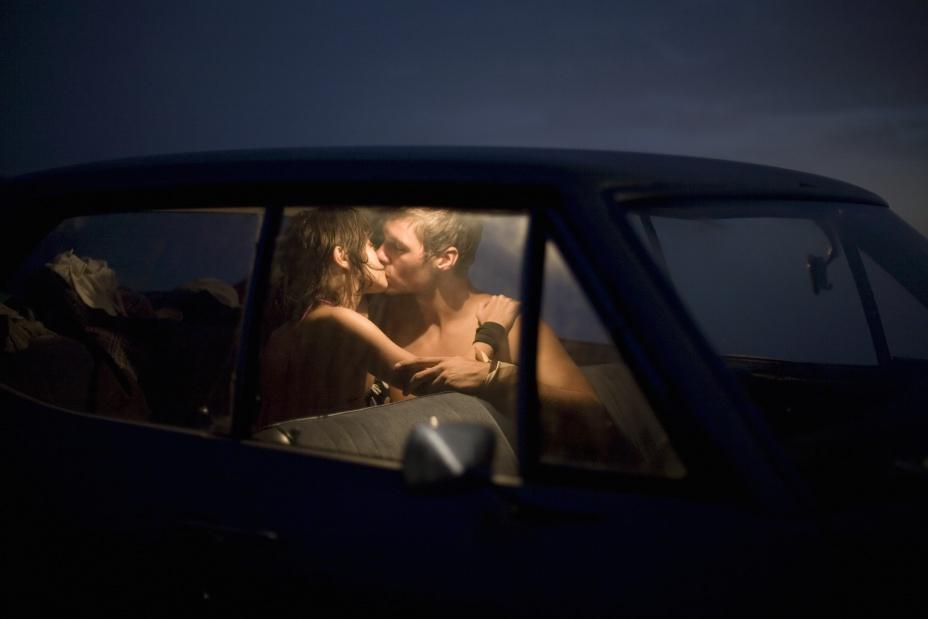 Запись секса в машине